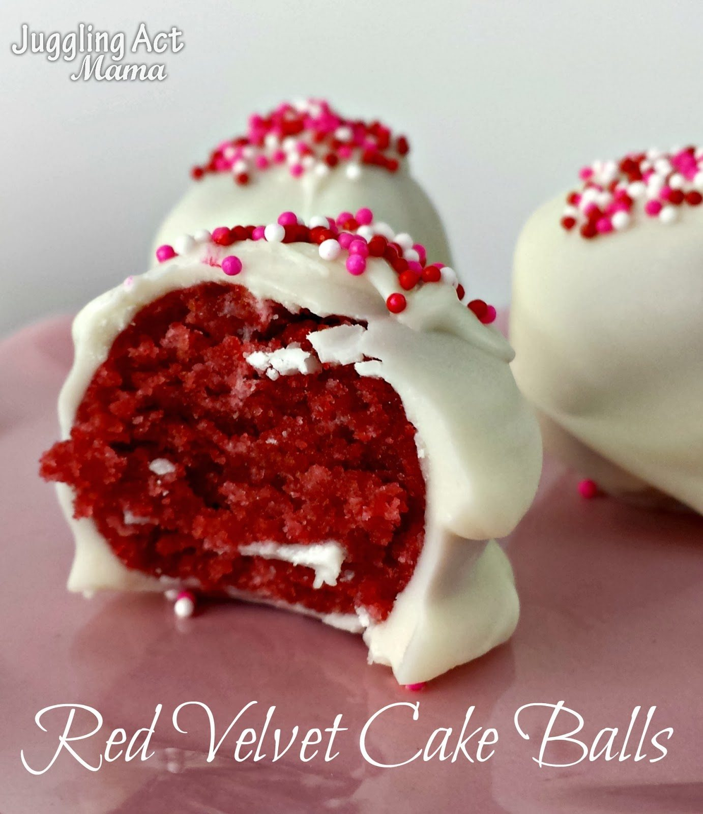 Red Velvet Cake Balls Recipe Cream Cheese