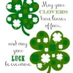 St. Patrick's Day Printable Poem