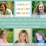 Cook it! Craft it! Share it Link Party #61
