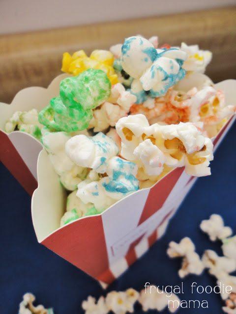 Sweet & Salty Rainbow Popcorn