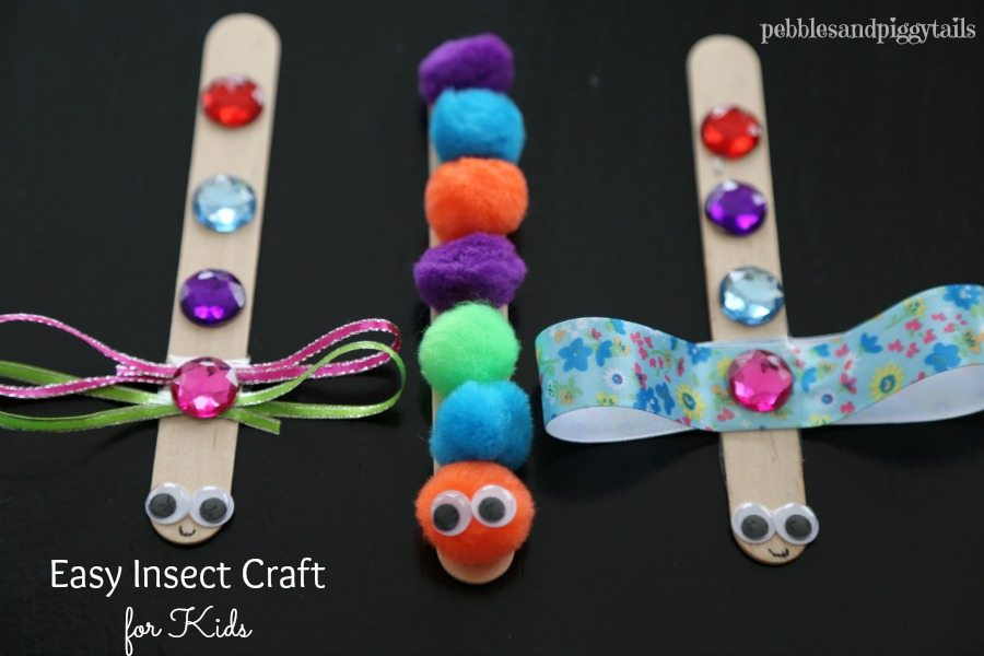 Kids Craft Ideas Easy Part - 18: Easy Bug Craft For Kids