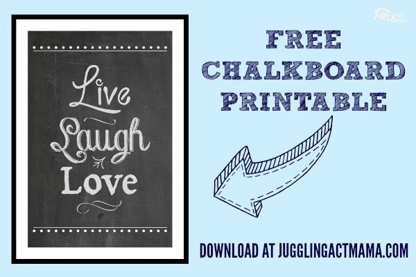 Live Laugh Love Printable