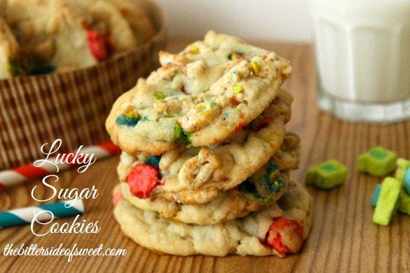 Lucky Sugar Cookies