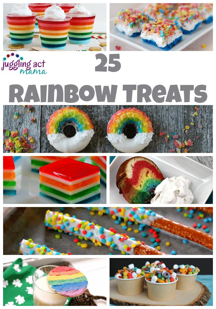 25 Rainbow Treats For St Patricks Day