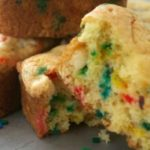 Easy Cake Batter Blondie Bars