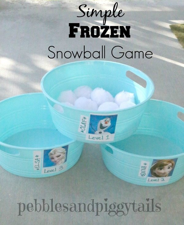 Frozen Snowball Game