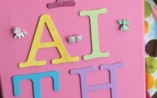 Kids DIY Wall Art Craft for your child's room