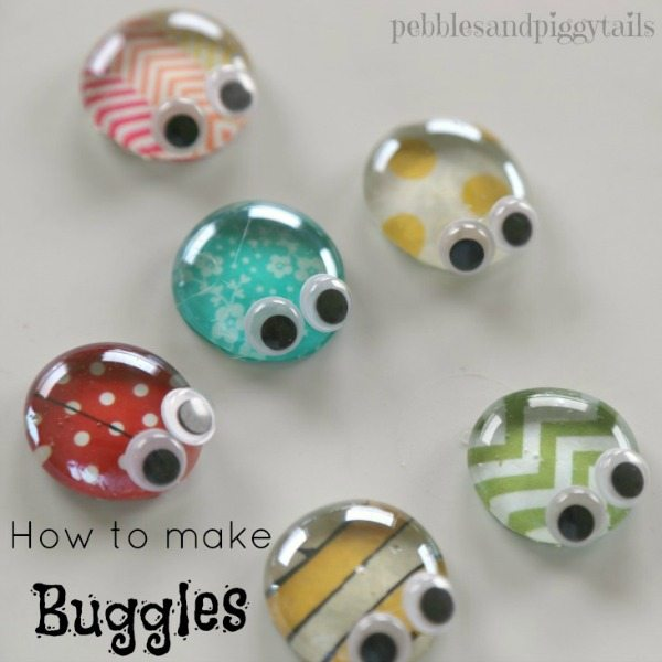 How to make BUGGLES! A cute kids craft reusing an Altoids tin! Fun for summer!