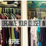 De-Junk Challenge: How to Organize Your Closets in an Hour or Less