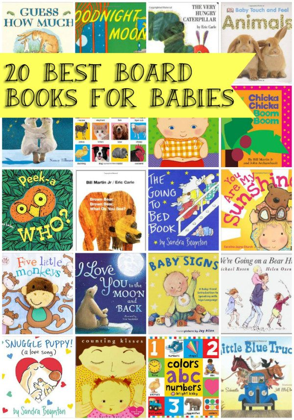 20 Best Board Books for Babies