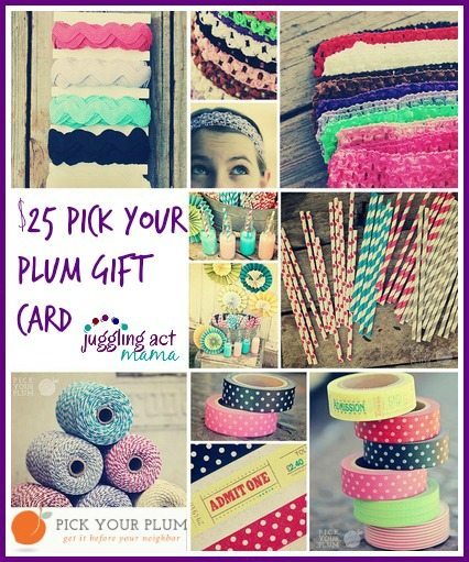 $25 Fall Pick Your Plum Giveaway