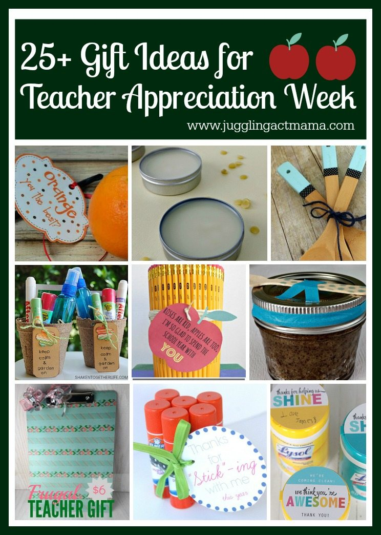 25+ Gift Ideas for Teacher Appreciation Week