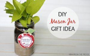 DIY Mason Jar Gift Ideas