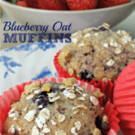 Delicious Homemade Blueberry Oat Muffins - Juggling Act Mama