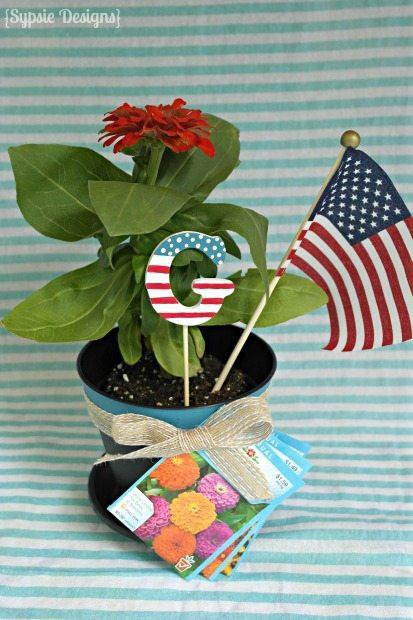 Fourth of July Hostess Gift Idea