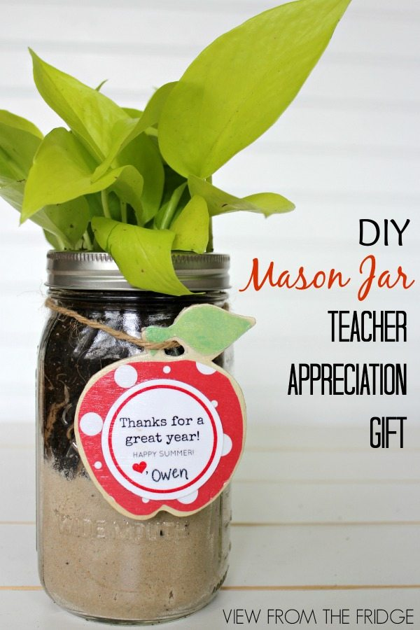 DIY Mason Jar Gift Idea from View From The Fridge