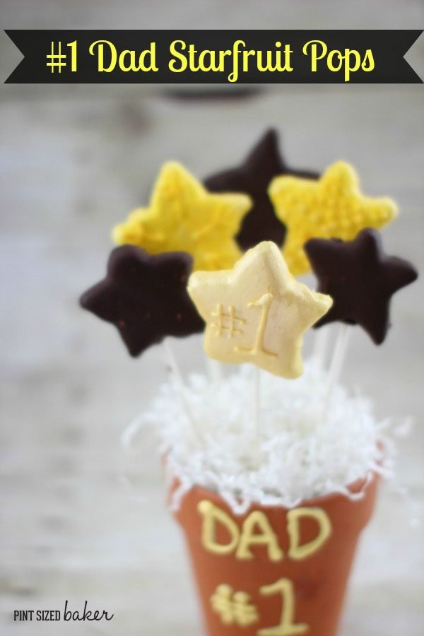 Tell your Dad he's #1 this Father's Day! Starfruit Pops are a great treat the kids can make for Father's Day!