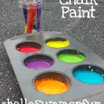 Easy DIY Chalk Paint #hellosummerfun