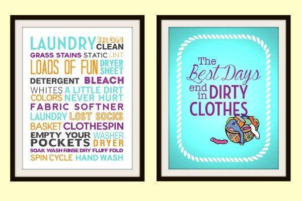 Free Laundry Printables at Juggling Act Mama