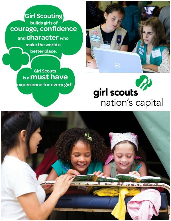 Girl Scouts Collage