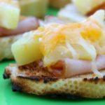 Ham and Pineapple Bruschetta
