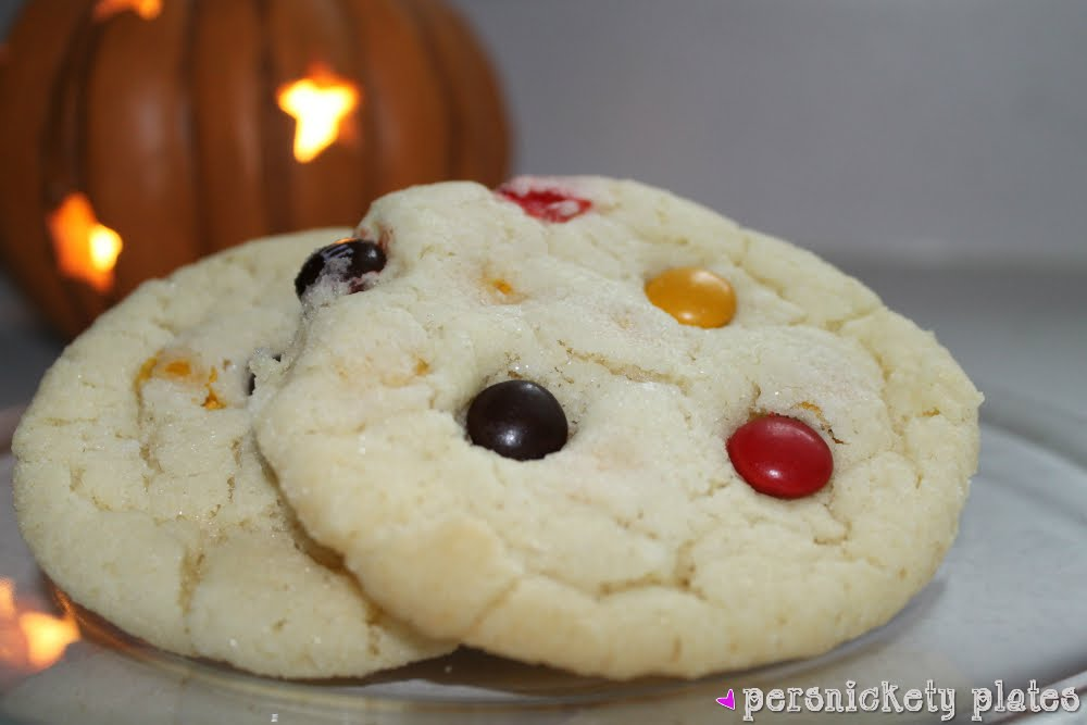 Chewy M&M Sugar Cookies   Persnickety Plates