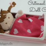 Oatmeal Box Doll Cradle
