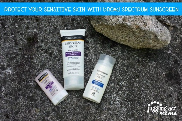 Protect Your Sensitive Skin with Broad Spectrum Sunscreen