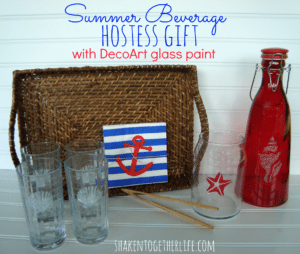 Summer Beverage Hostess Gift from Shaken Together