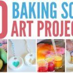 Baking Soda Art Projects
