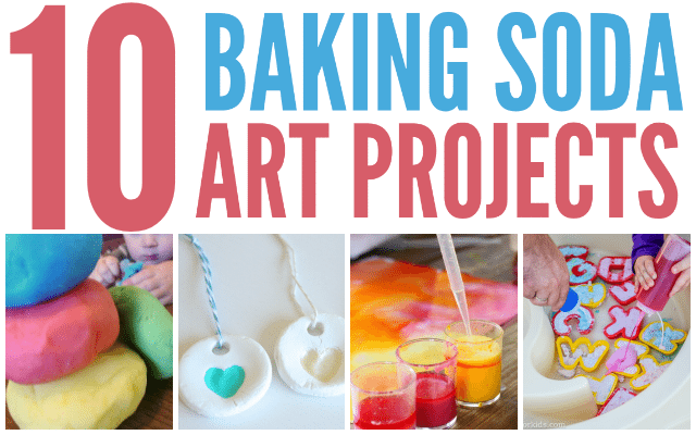 Baking Soda Art Projects