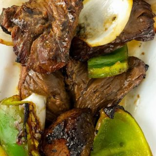 Grilled Teriyaki Beef Kabobs recipe