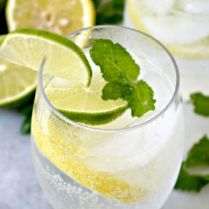 Lemon Lime Spritzer - the perfect summer refreshment