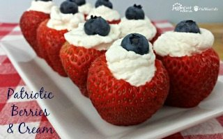 Patriotic Berries and Cream