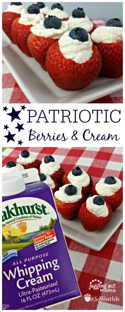 Patriotic Berries and Cream Juggling Act Mama Blog