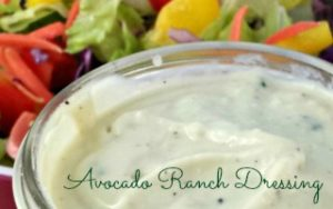 Avocado Ranch Dressing