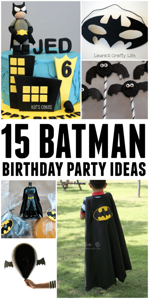If you're planning a Batman Party, this post is a must-read! We've got inspiration on everything from food to activities and more!
