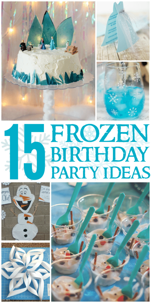 Create the perfect Frozen Party complete with themed food, activities, and more for your little one with these Frozen Birthday Party Ideas!