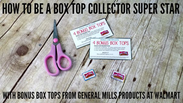 HOW TO BE A BOX TOP COLLECTOR SUPER STAR WITH GENERAL MILLS AND WALMART