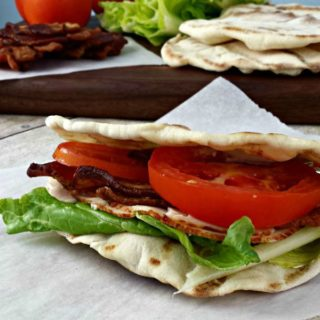 Turkey Bacon Ranch Wrap www.jugglingactmama.com