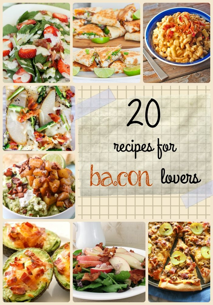 20 Bacon Mouthwatering Recipes