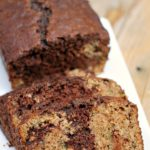 Classic zucchini bread gets an upgrade when you swirl in chocolate and chocolate chips! | Persnickety Plates