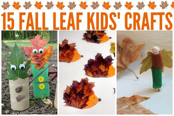 Fun Fall Leaf Kids' Crafts