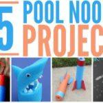 25 Fun Pool Noodle Crafts
