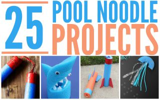 Pool Noodle Crafts –  25 Fun Ideas!