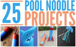 Pool Noodle Crafts –  25 Fun Ideas!