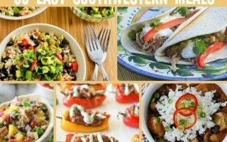 Southwestern Meals + Sides