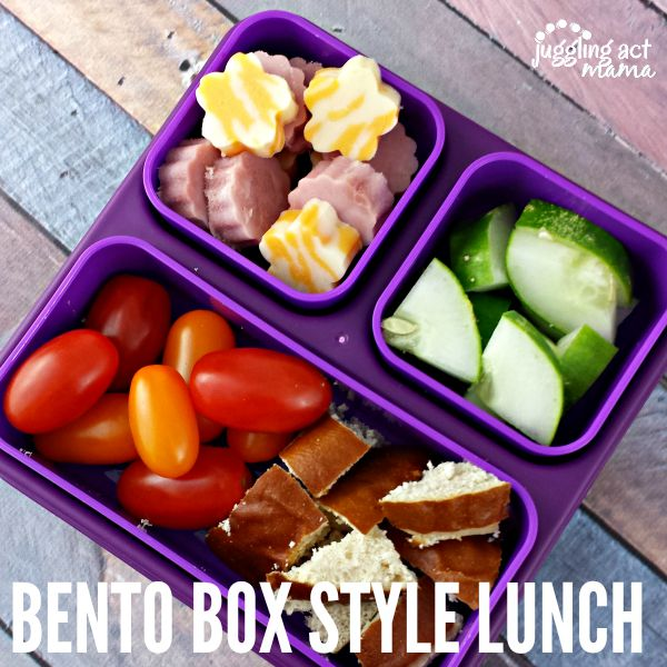 Bento Box Style Lunch
