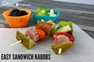 Back to School Lunchbox Notes + Sandwich Kabobs