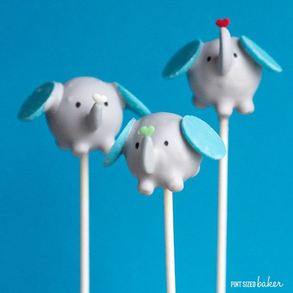 These adorable Elephant Cake Pops are easy to make. I've got the full tutorial and easy step by step instructions to make them at home!